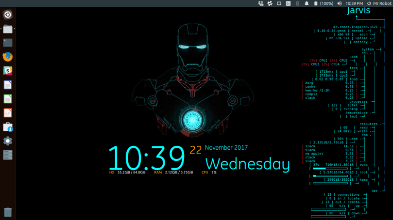 Iron Mans JARVIS Just Another Rather Very Intelligent System Type Live Wallpaper By We Means That Everything Updated Each Second YES